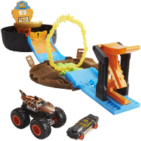 Wholesalers of Hot Wheels Mt Stunt Tyre Play Set toys image 3