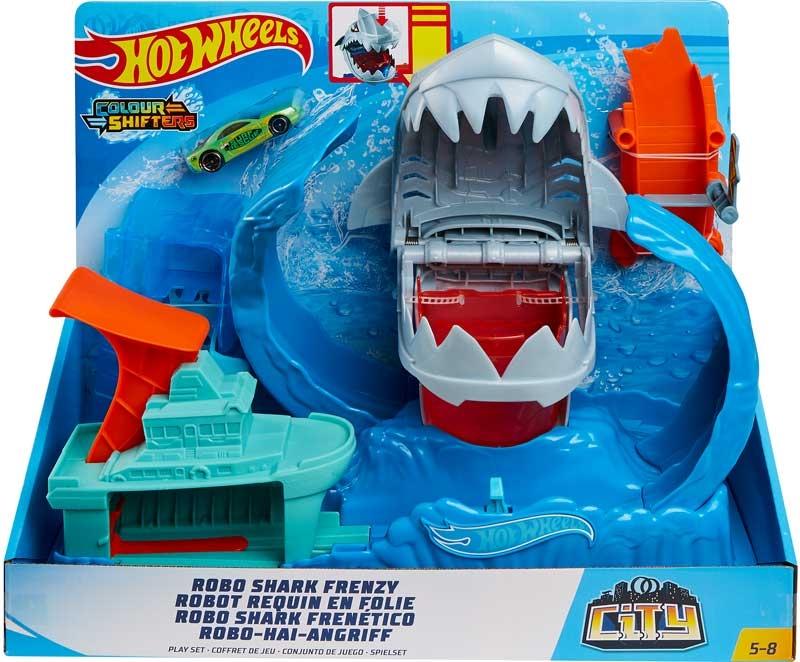 Wholesalers of Hot Wheels Robo Shark Frenzy Play Set toys