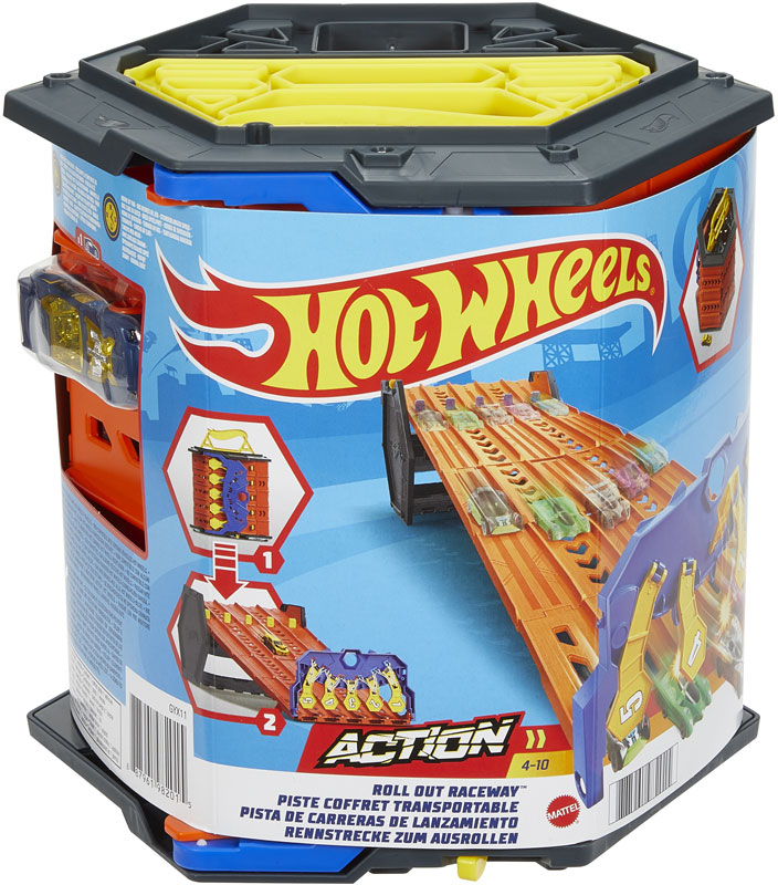 Wholesalers of Hot Wheels Roll Out Raceway Track Set toys