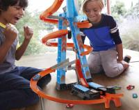 Wholesalers of Hot Wheels Sky Crash Tower Track Set toys image 4
