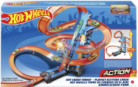 Wholesalers of Hot Wheels Sky Crash Tower Track Set toys Tmb
