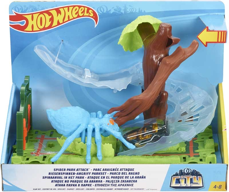 Wholesalers of Hot Wheels Spider Park Playset toys