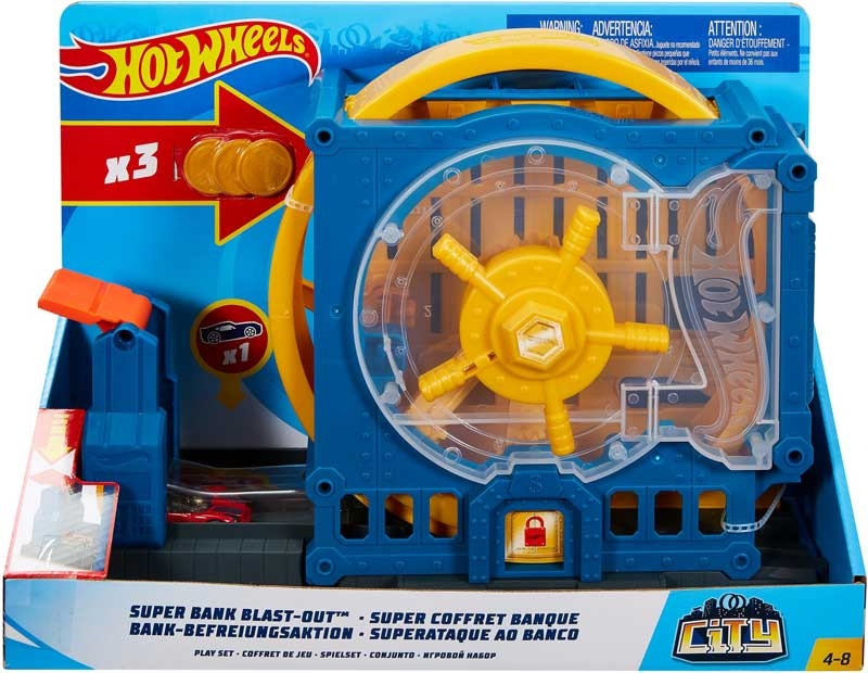 Wholesalers of Hot Wheels Super Bank Breakout toys