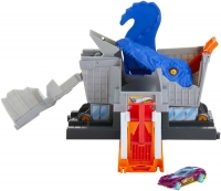 Wholesalers of Hot Wheels T-rex Grocery Attack Playset toys image 2