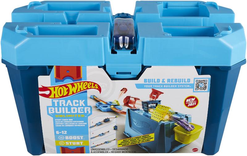 Wholesalers of Hot Wheels Tb Crash Box toys