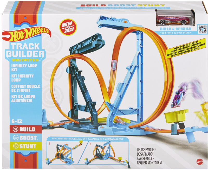Wholesalers of Hot Wheels Tb Infinity Loop Kit toys