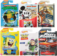 Wholesalers of Hot Wheels Themed Entertainment Asst toys image