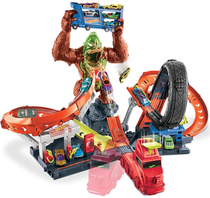 Wholesalers of Hot Wheels Toxic Gorilla Slam toys