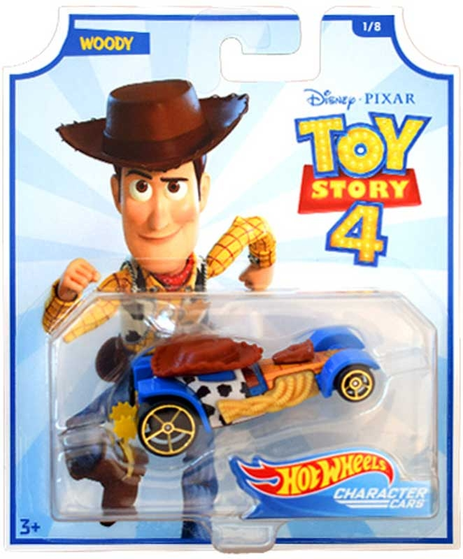 Hot Wheels Toy Story 4 Character Cars Wholesale