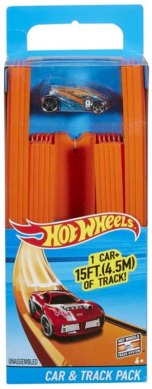Wholesalers of Hot Wheels Track Builder 15 Ft Track With Car toys