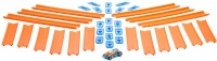 Wholesalers of Hot Wheels Track Builder 15 Ft Track With Car toys image 3