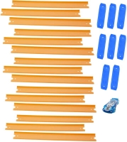 Wholesalers of Hot Wheels Track Builder 15 Ft Track With Car toys image 4