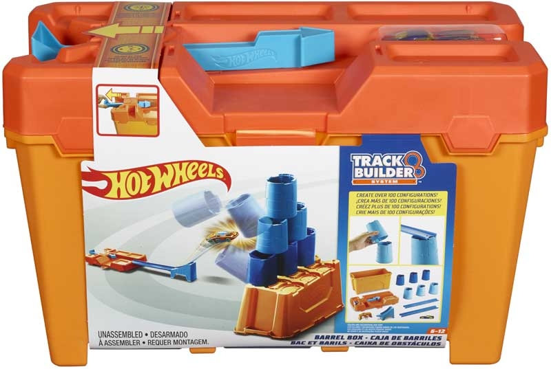 Wholesalers of Hot Wheels Track Builder Barrel Box toys