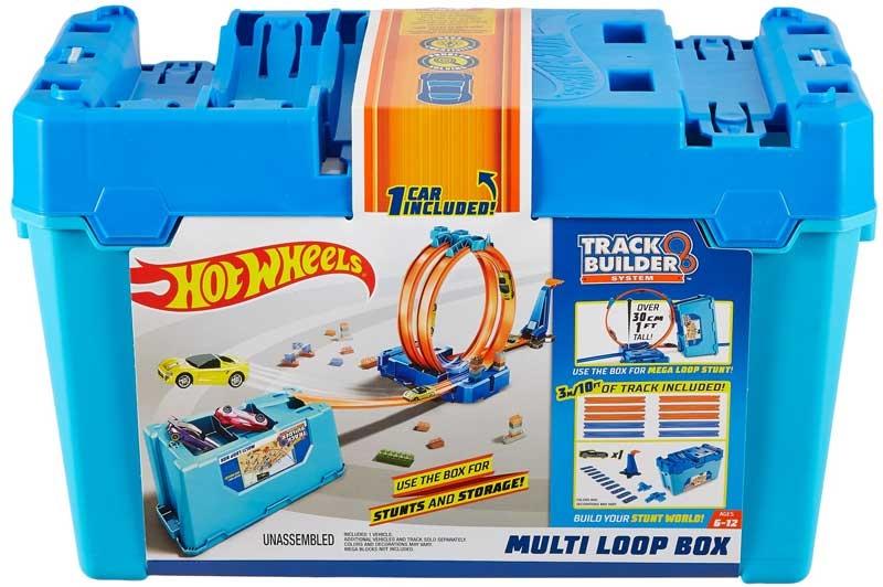 Wholesalers of Hot Wheels Track Builder Multi Loop Box toys