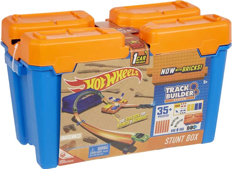Wholesalers of Hot Wheels Track Builder Stunt Box toys