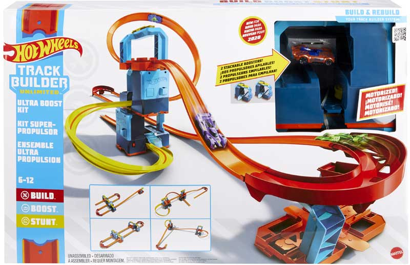 Wholesalers of Hot Wheels Track Builder Ultra Boost Kit toys