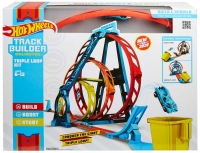 Wholesalers of Hot Wheels Track Builder Unlimited Triple Loop Kit toys image