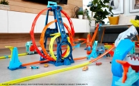 Wholesalers of Hot Wheels Track Builder Unlimited Triple Loop Kit toys image 2