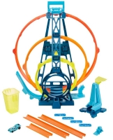 Wholesalers of Hot Wheels Track Builder Unlimited Triple Loop Kit toys image 4