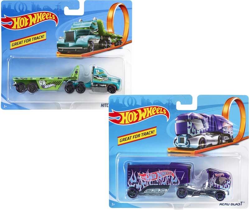 Wholesalers of Hot Wheels Trackin Trucks Asst toys
