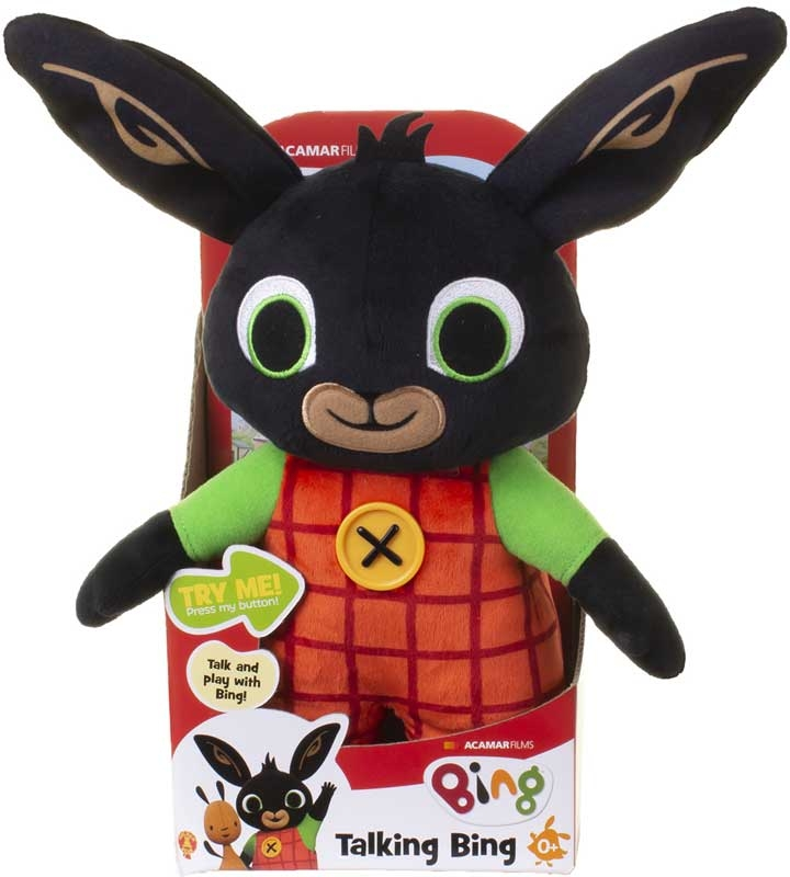 Wholesalers of Huggable Talking Bing Soft Toy toys