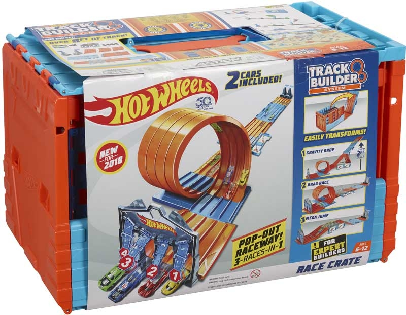 Wholesalers of Hw Track Builder Race Crate toys