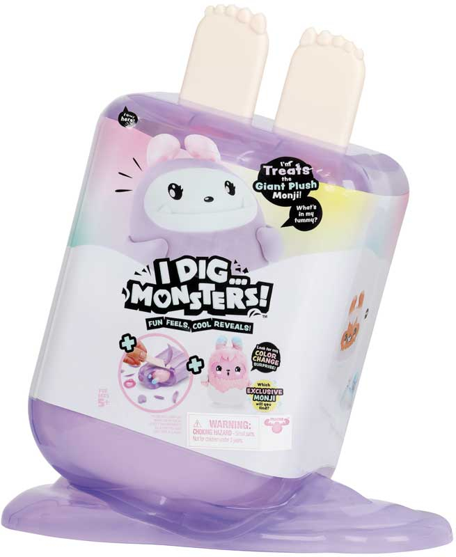 Wholesalers of I Dig Monsters Jumbo Popsicle Asst toys