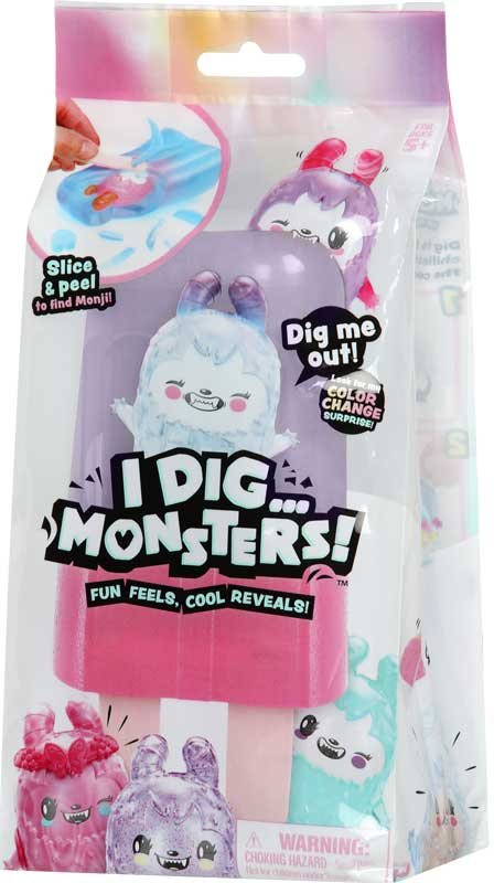Wholesalers of I Dig Monsters Small Popsicle Pack Asst toys