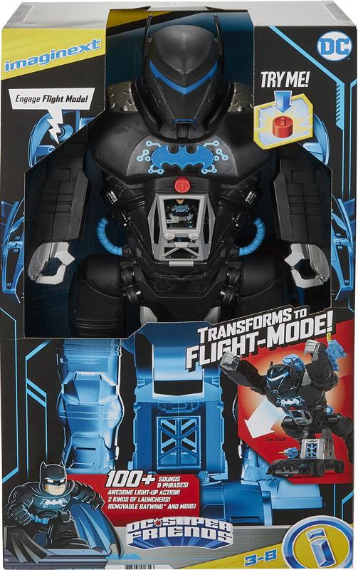 Wholesalers of Imaginext Dc Super Friends Bat-tech Batbot toys