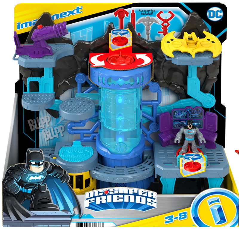 Wholesalers of Imaginext Dc Super Friends Bat-tech Batcave toys