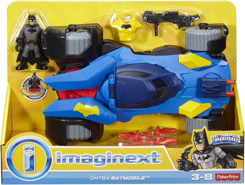 Wholesalers of Imaginext Dc Super Friends Batmobile toys