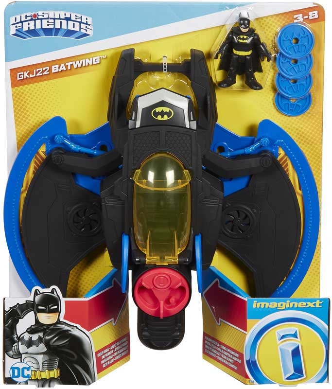 Wholesalers of Imaginext Dc Super Friends Batwing toys