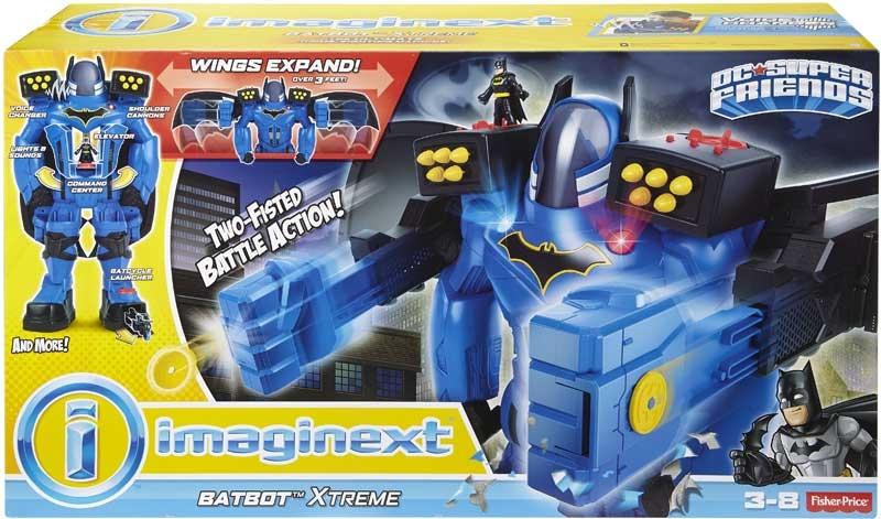 Wholesalers of Imaginext Dc Super Hero Friends Batbot Xtreme toys