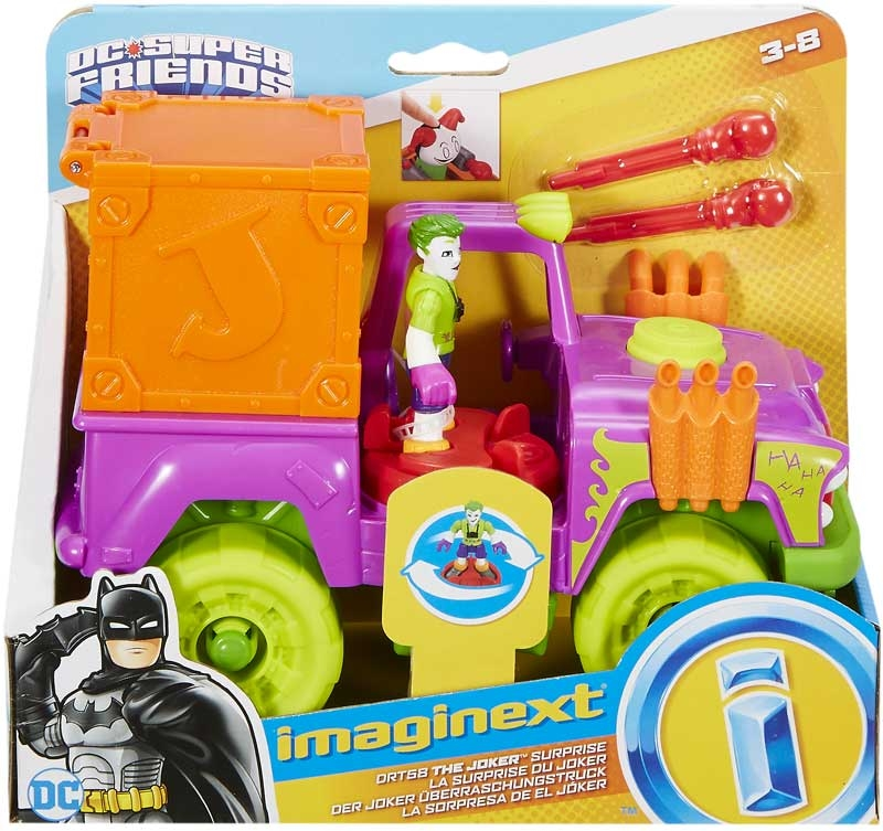 Wholesalers of Imaginext Dc Super Hero Friends Feature Asst toys