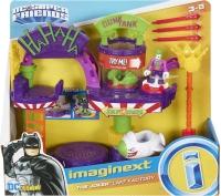 Wholesalers of Imaginext Dc Super Hero Friends Joker Laugh Factory toys image