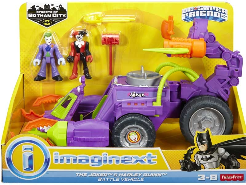 Wholesalers of Imaginext Dc Super Hero Friends The Joker Claw Vehicle toys