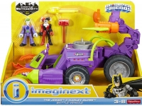Wholesalers of Imaginext Dc Super Hero Friends The Joker Claw Vehicle toys image