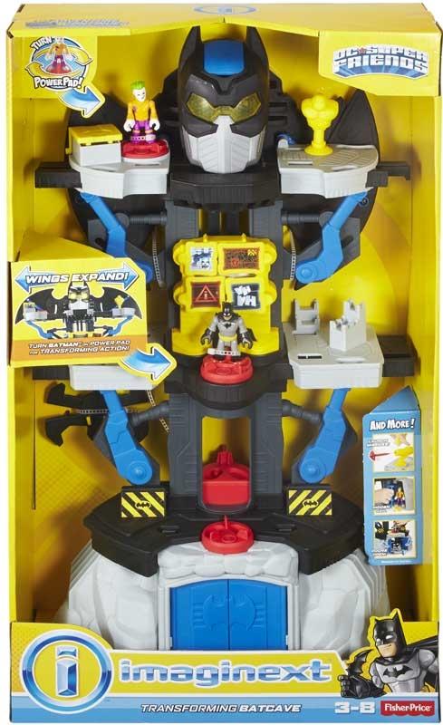 Wholesalers of Imaginext Dc Super Hero Friends Transforming Batcave toys