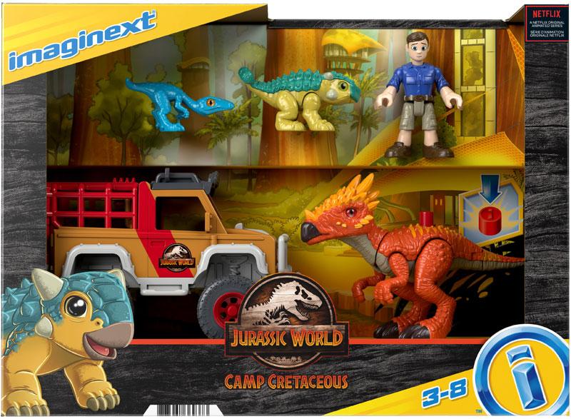 Wholesalers of Imaginext Jurassic World Camp Cretaceous Runaway Dinos toys