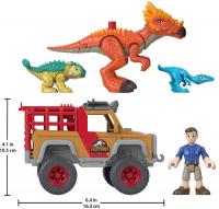 Wholesalers of Imaginext Jurassic World Camp Cretaceous Runaway Dinos toys image 3
