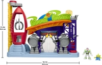 Wholesalers of Imaginext Playset Featuring Toy Story Pizza Planet toys image 4