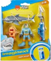Wholesalers of Imaginext Sharks Basic Figures Asst toys image
