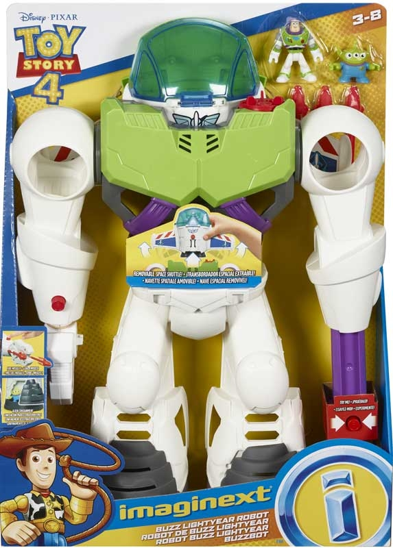 Wholesalers of Imaginext Toy Story 4 Buzz Bot toys