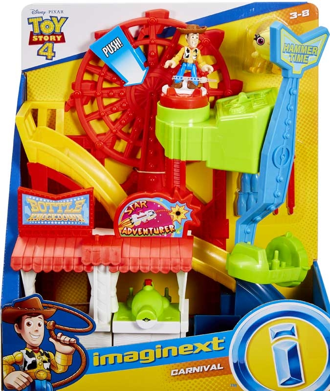 Wholesalers of Imaginext Toy Story 4 Carnival Playset toys
