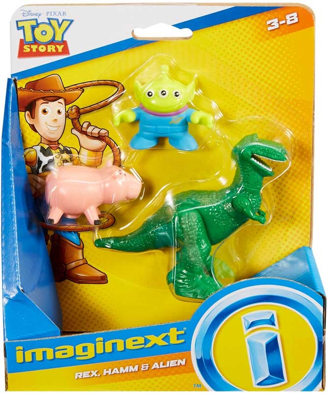 Wholesalers of Imaginext Toy Story Legacy Basic Asst toys