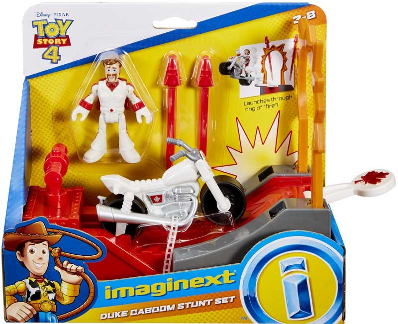 Wholesalers of Imaginext Ts4 Feature Asst Canuck & Boom Boom Bike toys