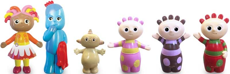 Wholesalers of In The Night Garden 6 Figure Character Pack toys