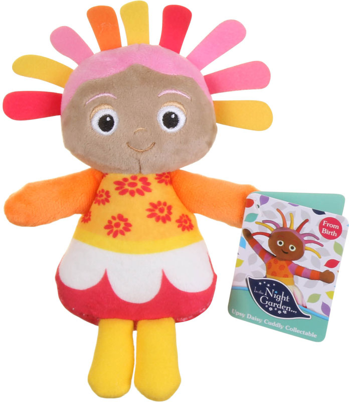Wholesalers of In The Night Garden Cuddly Collectable Soft Toy Upsy Daisy toys