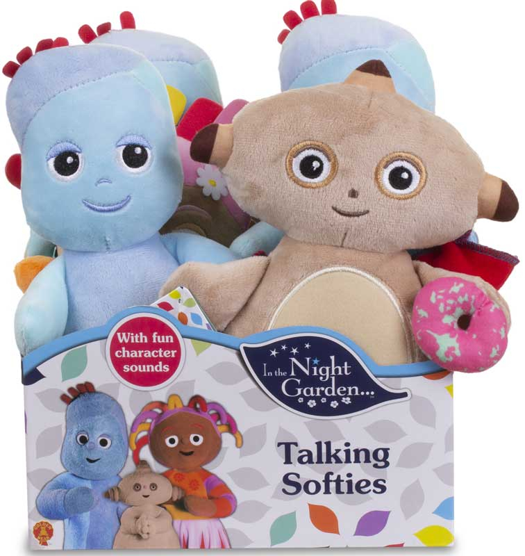 Wholesalers of In The Night Garden Cuddly Collectable Soft Toys Asst toys
