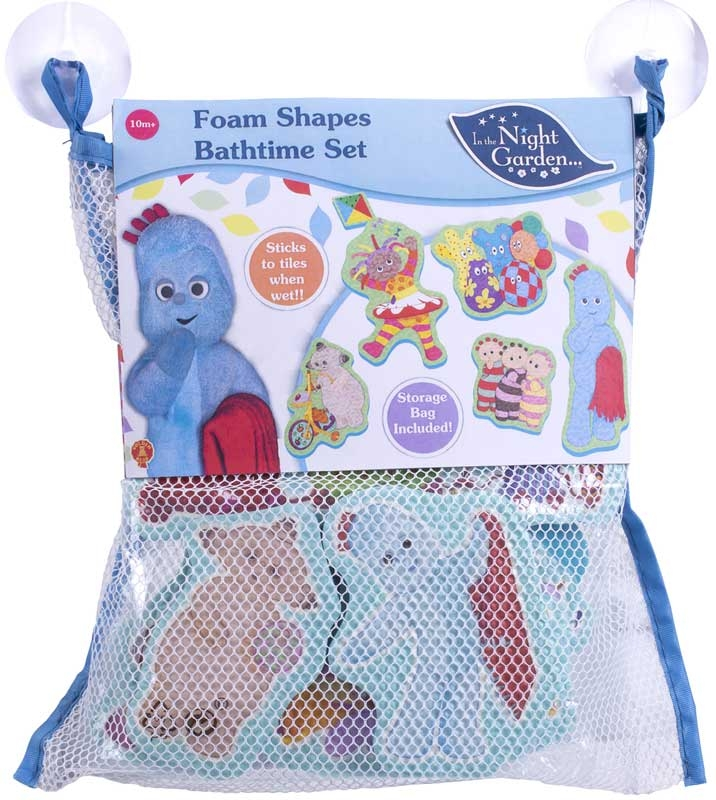 Wholesalers of In The Night Garden Foam Bath Time Set Large toys